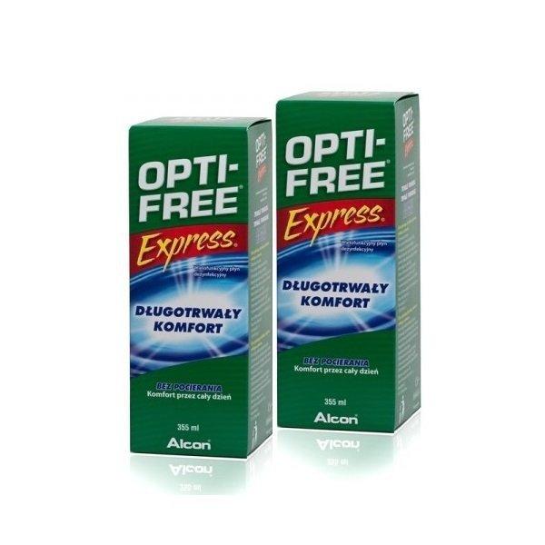 Zestaw płynów OPTI-FREE Express 2x355ml
