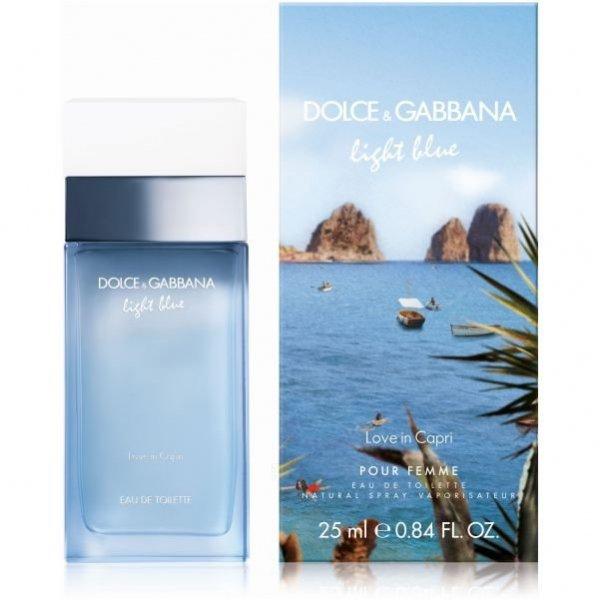 Dolce & Gabbana Light Blue Pour Femme Love in Capri EdT 25 ml