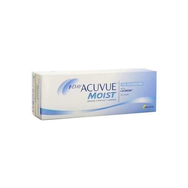 1-Day Acuvue Moist for Astigmatism 30 szt.+GRATIS Karta podarunkowa Empik 25zł (do 2op.)