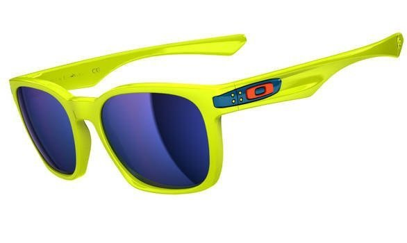 Oakley Garage Rock. Neon Yellow/Ice Iridium OO9175-14