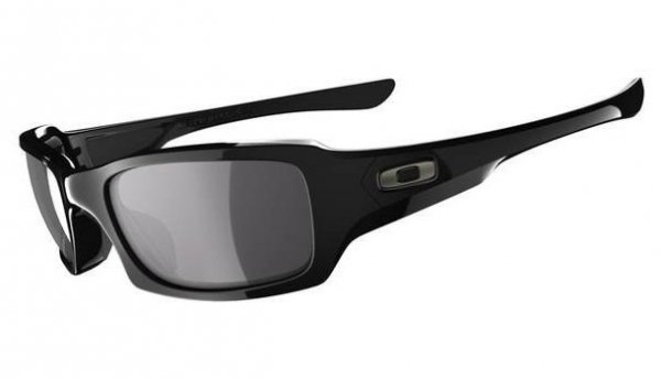 Oakley FIVES SQUARED Polished Black/Black Iridium Polarized OO9238-06