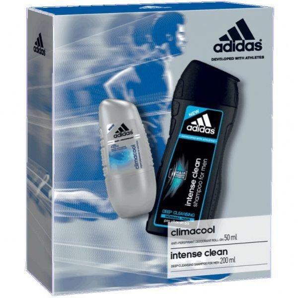 Adidas Climacool Anti-Perspirant 50 ml + Adidas Intense Clean Shampoo 200 ml