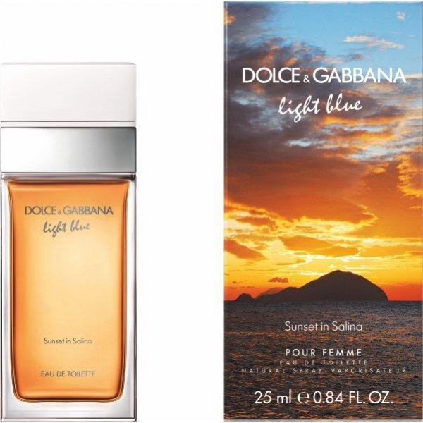 Dolce & Gabbana Light Blue Pour Femme Sunset in Salina EdT 25 ml