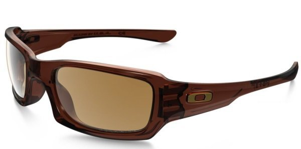 Oakley FIVES SQUARED Polished Root Beer/Bronze Polarized OO9238-08