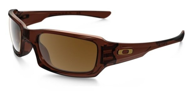 Oakley FIVES SQUARED Polished Root Beer/Dark Bronze OO9238-07