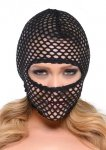 FF FISHNET HOOD BLACK