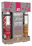 JO NAUGHTY OR NICE LUBE SET 30ML