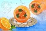 Mydło Pomarańcza aromatherapy loofah 100g