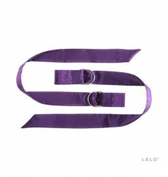 Szarfy do krępowania LELO - Boa, fioletowe