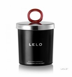 LELO Świeca do masażu Black Pepper & Pomegranate