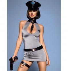 Police dress kostium S/M