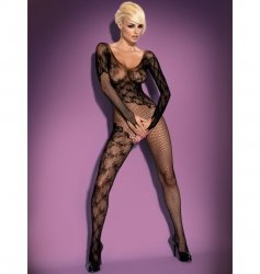 Bodystocking F210 czarne XL/XXL