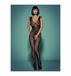Bodystocking N112 czarne XL/XXL