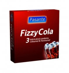 Prezerwatywy Pasante - Fizzy Cola (1 op. /3 szt.)