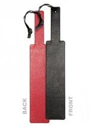 WELT PUNISHMENT PADDLE BLACK & RED