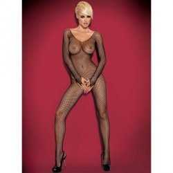 Bodystocking N109 czarne XL/XXL