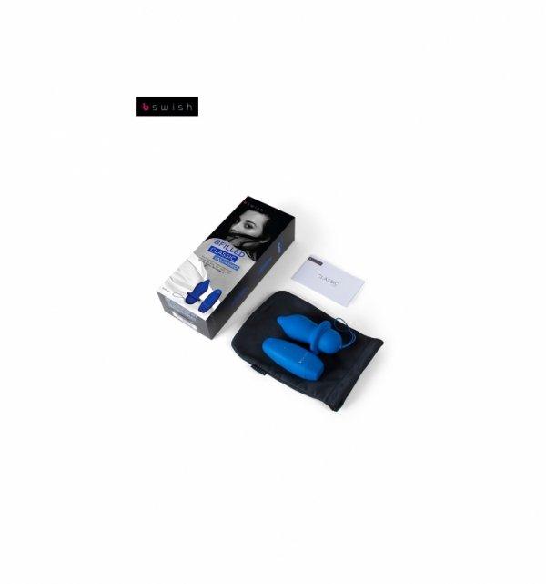 Korek analny B Swish - Bfilled Classic Unleashed, niebieski
