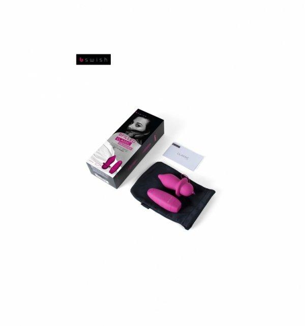 Korek analny B Swish - Bfilled Classic Unleashed, różowy