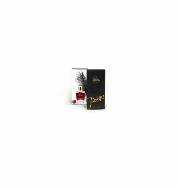 Atrament jadalny z piórkiem Bijoux Indiscrets - Poeme - Sweetheart Cherry