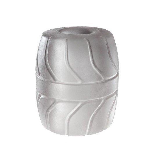 Pierścień na jądra Perfect Fit - SilaSkin Ball Stretcher 50 mm (biały)