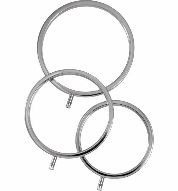 Zestaw pierścieni do elektrostymulacji (3 szt.)