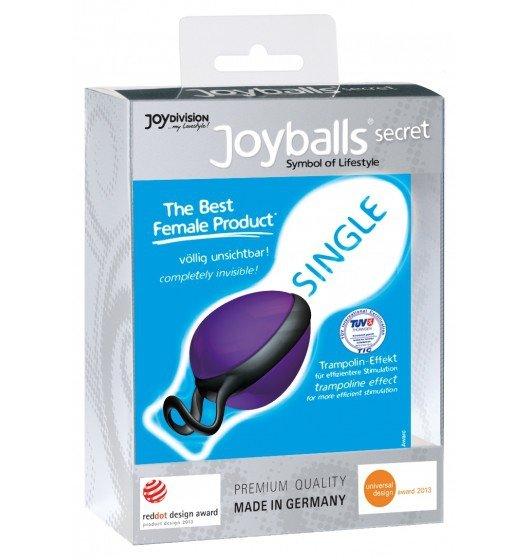 Kulki gejszy Joyballs Secret Single (fiolet/czerń)