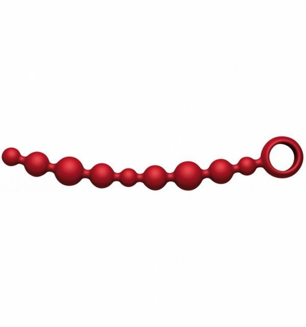 Kulki analne Joyballs anal Wave (długie, czerwone)