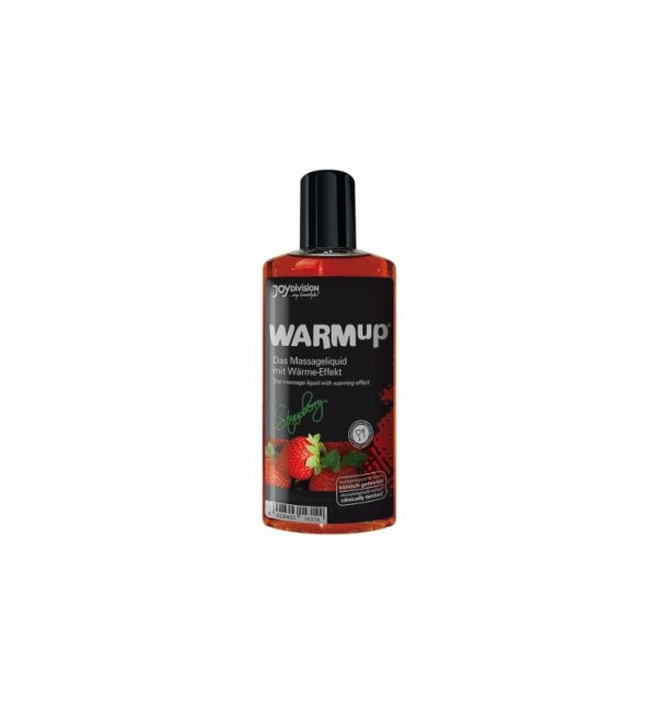 Żel do masażu WARMup Strawberry 150 ml