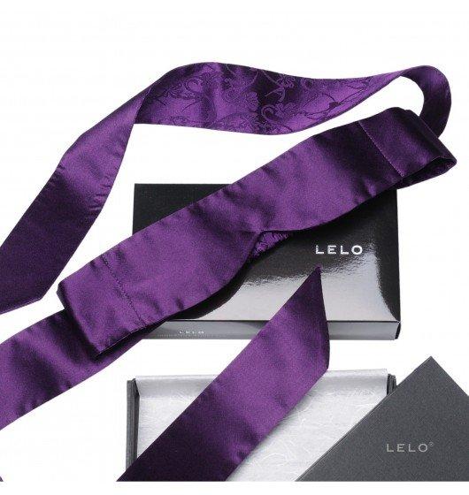 Opaska na oczy LELO - Intima, fioletowa