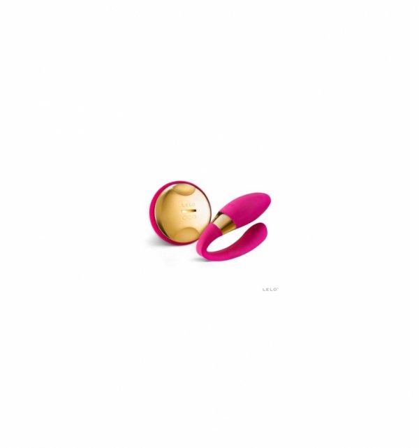 Wibrator do par LELO - TIANI 3 24k, wiśniowy
