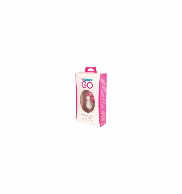 Symulator seksu oralnego Sqweel Go, różówy