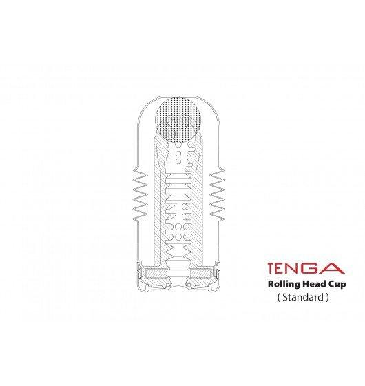 Masturbator Tenga - Rolling Head Cup