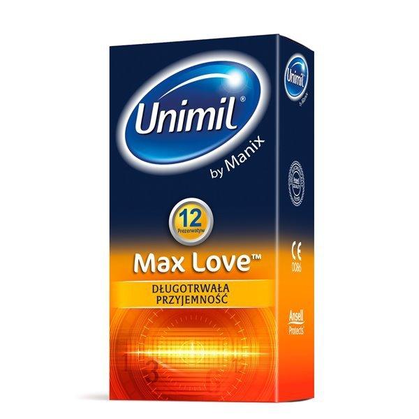 Prezerwatywy Unimil Max Love (1op./12szt.)