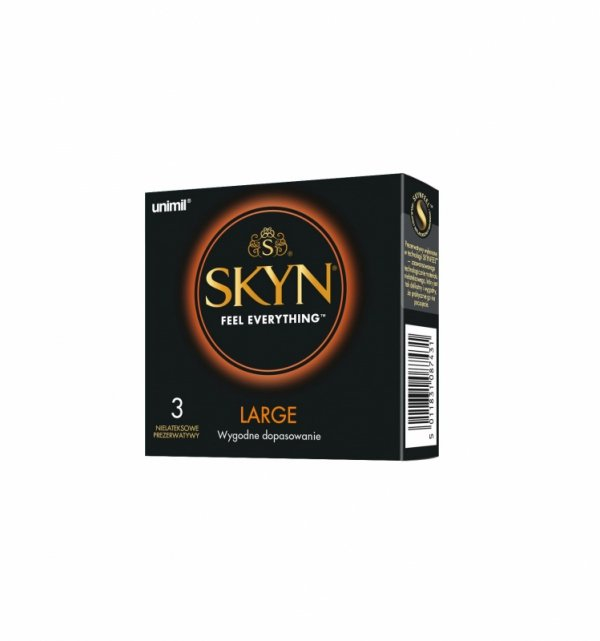 Prezerwatywy Unimil SKYN Large nielateksowe (1op./3szt.)
