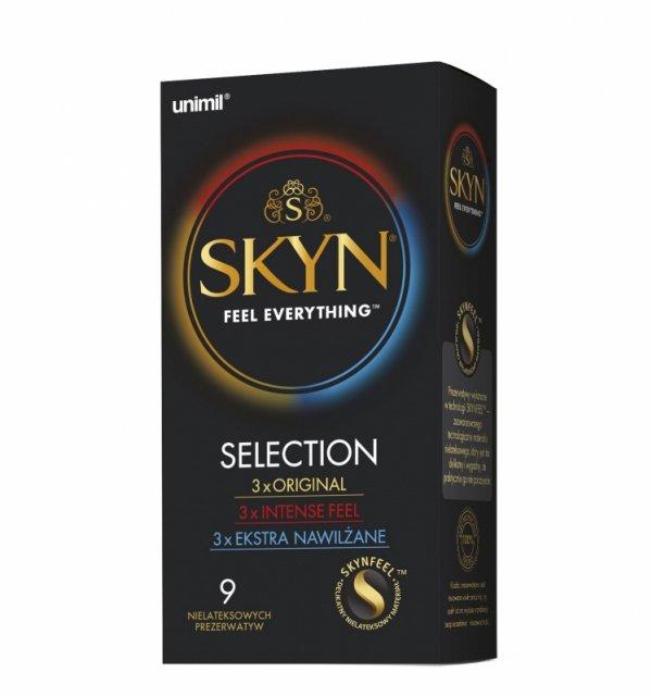 Prezerwatywy UNIMIL Skyn Selection 9 szt