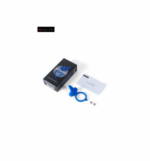 Wibrujący pierścień B Swish - Bcharmed Classic, niebieski