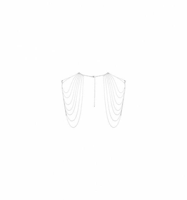 Łańcuszek na plecy Bijoux Indiscrets Magnifique (srebrny)