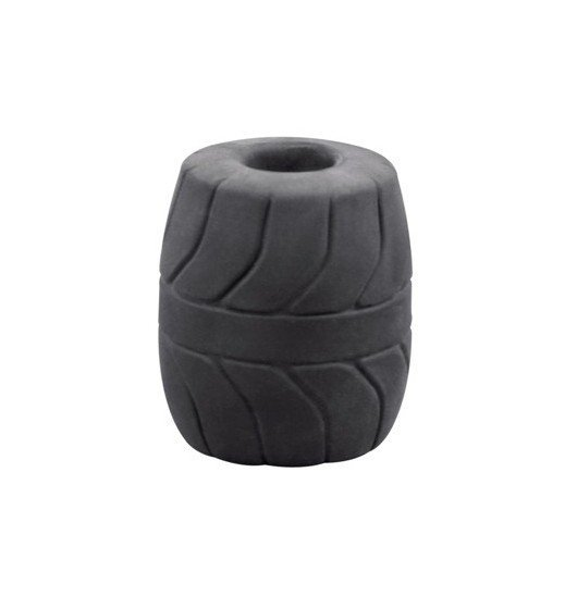 Pierścień na jądra Perfect Fit - SilaSkin Ball Stretcher 50 mm (czarny)