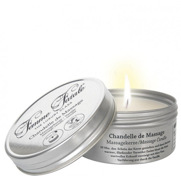 Świeca do masażu Femme Fatale (vanilla candle) 125ml