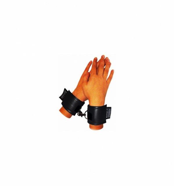 Kajdanki Soft-Bond-X-Handgelenk-Fesseln (handcaffs black)