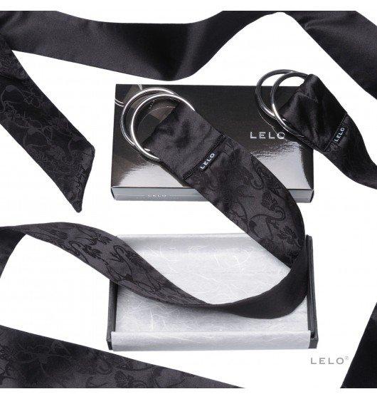 szarfy do krępowania LELO - Boa, czarne