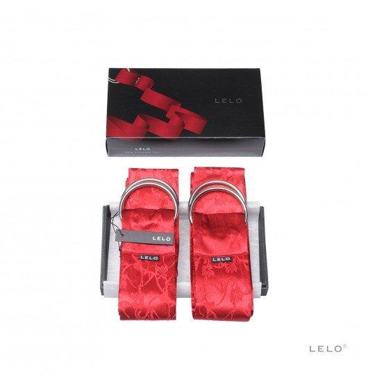 Szarfy do krępowania LELO - Boa, czerwone