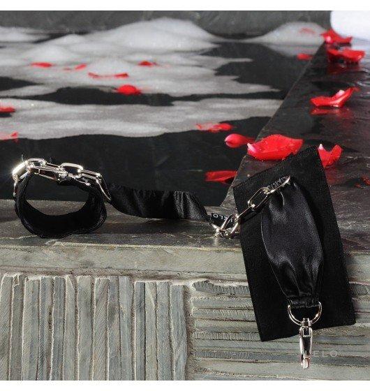 Kajdanki LELO - Sutra, czarne