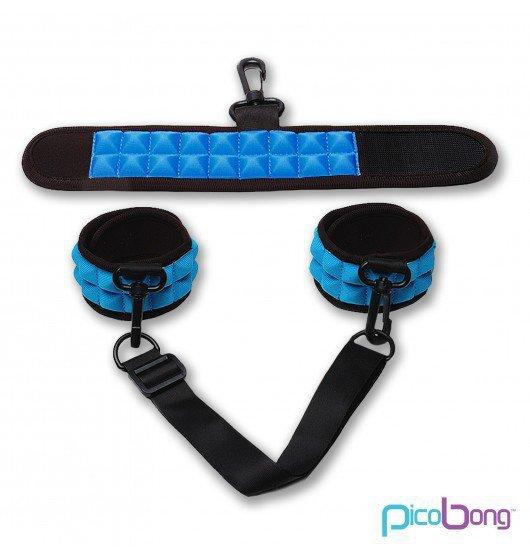 Kajdanki Picobong - Resist No Evil, niebieskie
