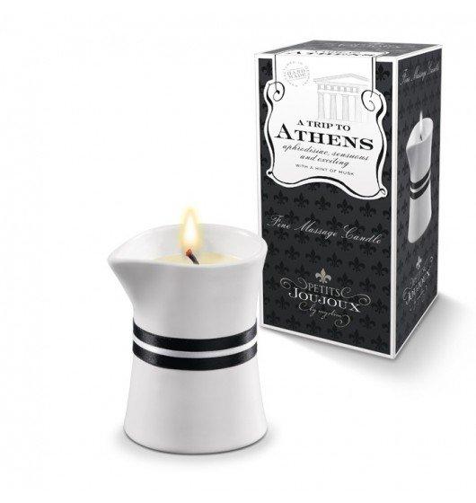 Świeca do masażu Petits Joujoux Fine Massage Candles - A trip to Athens (mała)