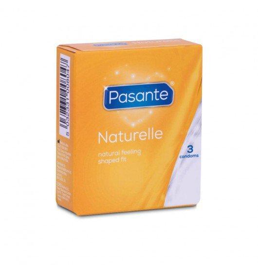 Prezerwatywy Pasante - Naturelle (1 op. / 3 szt.)