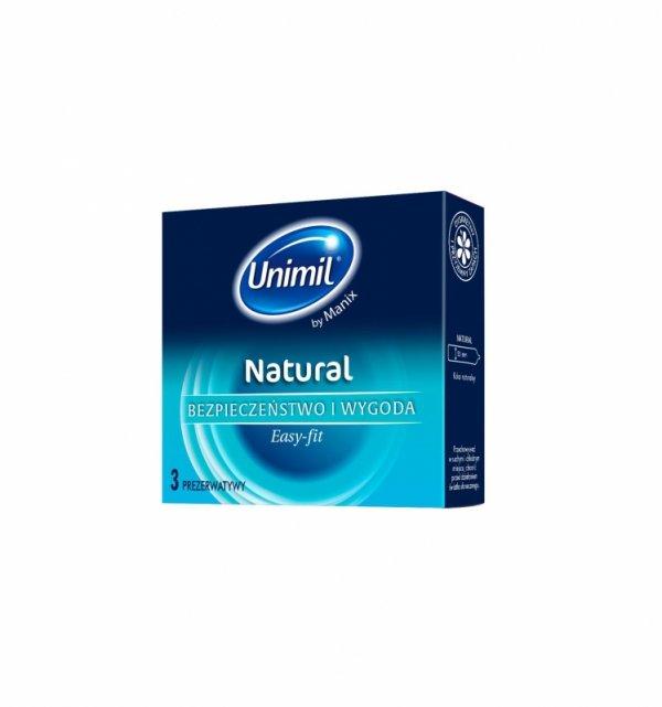 Prezerwatywy Unimil Natural (1op./3szt.)