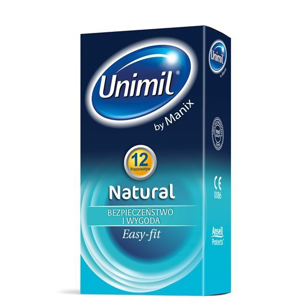 Prezerwatywy Unimil Natural (1op./12szt.)