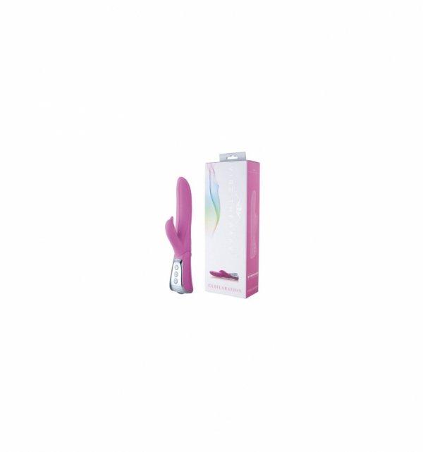 Wibrator króliczek Vibe Therapy - Exhilaration różowy