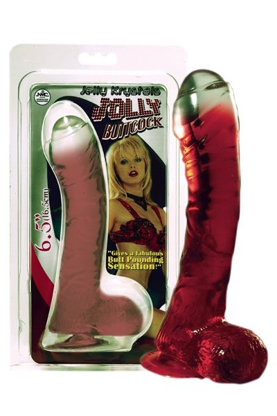 Lazy Buttcock 6.5 Red Dong